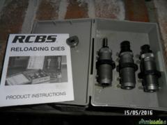 3 - DIES carb tc SET 45ACP/AR/GAP - RCBS