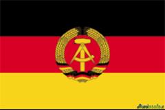 BANDIERA EX GERMANIA EST (DDR)