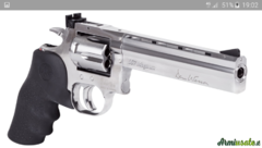 ASG Dan Wesson 715 airgun Custom cal.6mm.  6mm 6.35