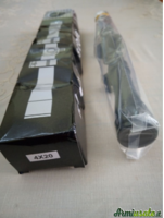Ottica riflescope 4x20 nuova 11mm.