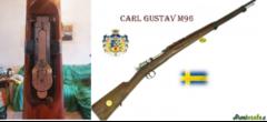Carl Gustaf 96 6.5x55mm