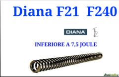 DIANA Molla stantuffo MOD.F21-F240 TO5 <7,5
