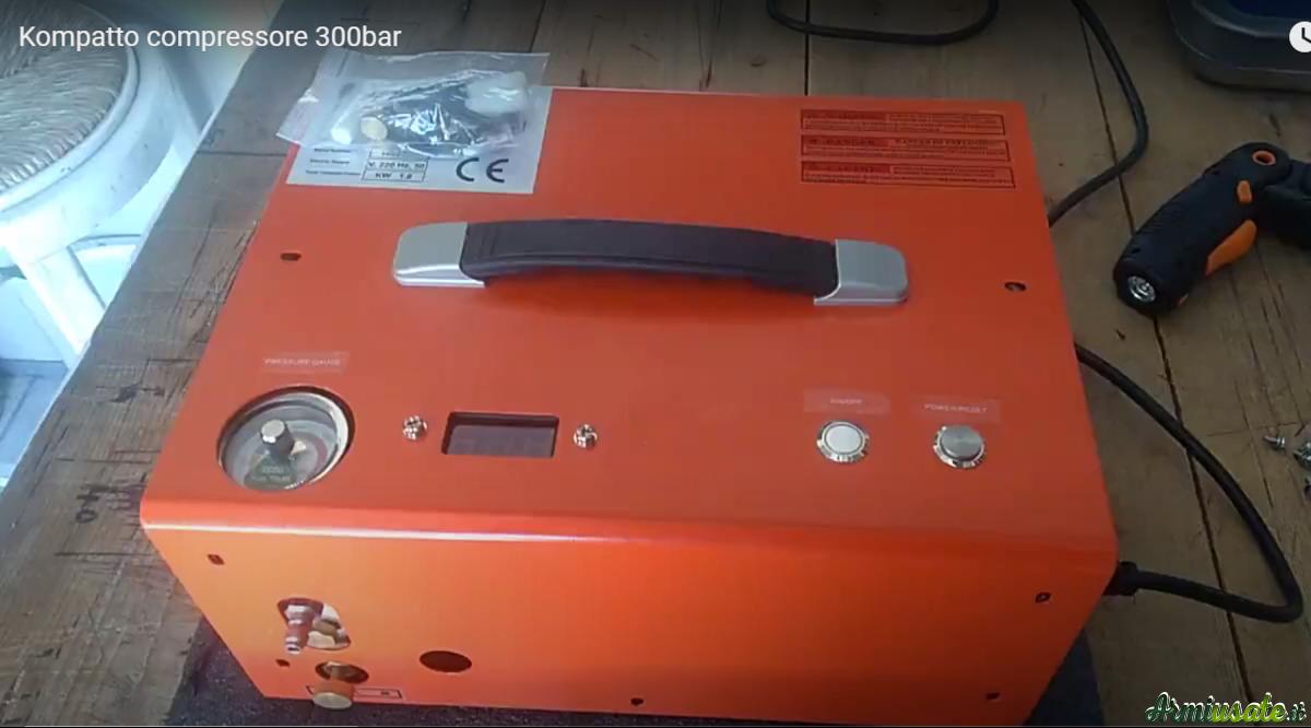 Kompatto compressore 300bar