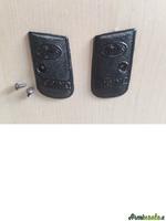 Guancette per pistola Unique complete di viti